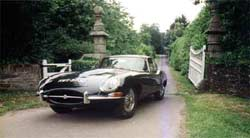Jaguar E-Type - Cornwall Classic Car Hire